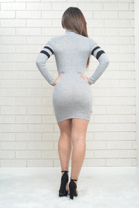 Time Out Dress - Grey