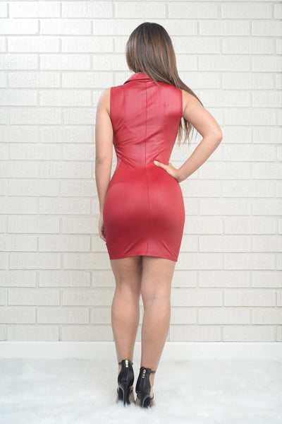 Dare Dress - Red
