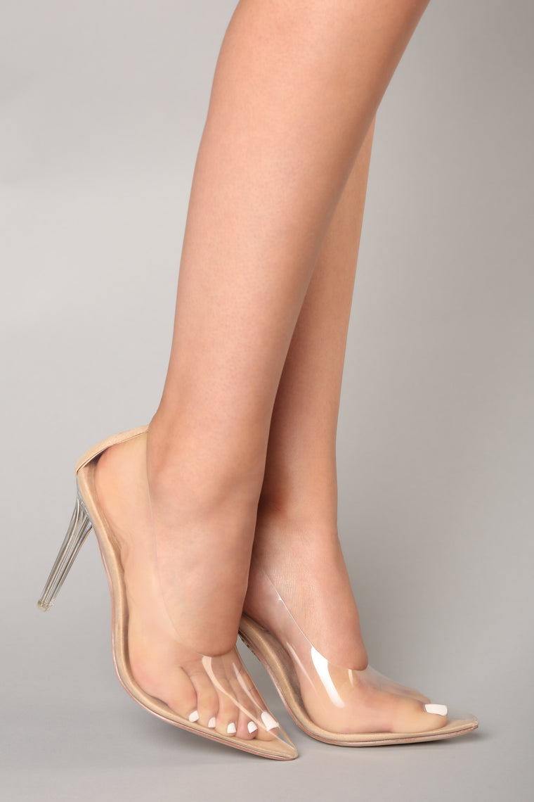 In The Clear Pump - Transparent, Shoes