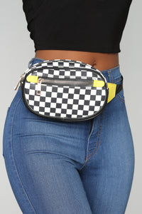 Check Up On It Fanny Pack - Yellow