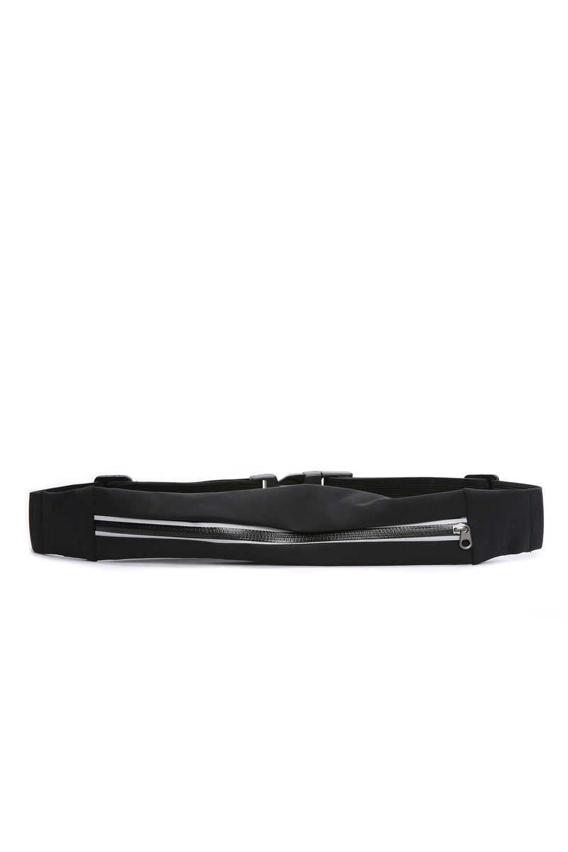 Hold The Stretch Fanny Pack - Black
