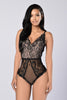 Honey Lush Bodysuit - Black