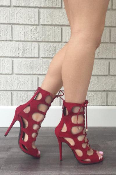 Topanga Heel - Red