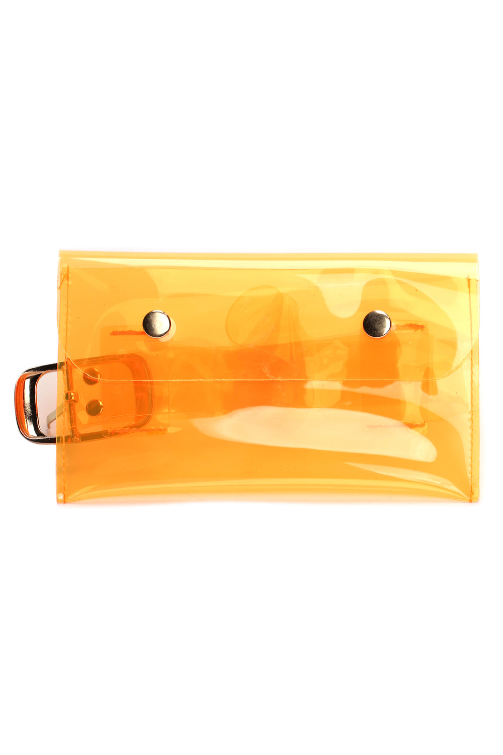 Keep It Transparent Fanny Pack - Orange