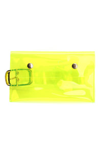 Keep It Transparent Fanny Pack - Yellow