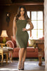 Isabella Dress - Olive