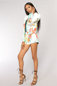 Butterfly Effect Blazer - White Angle 10