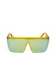 Bolder Than Before Shield Sunglasses - Yellow