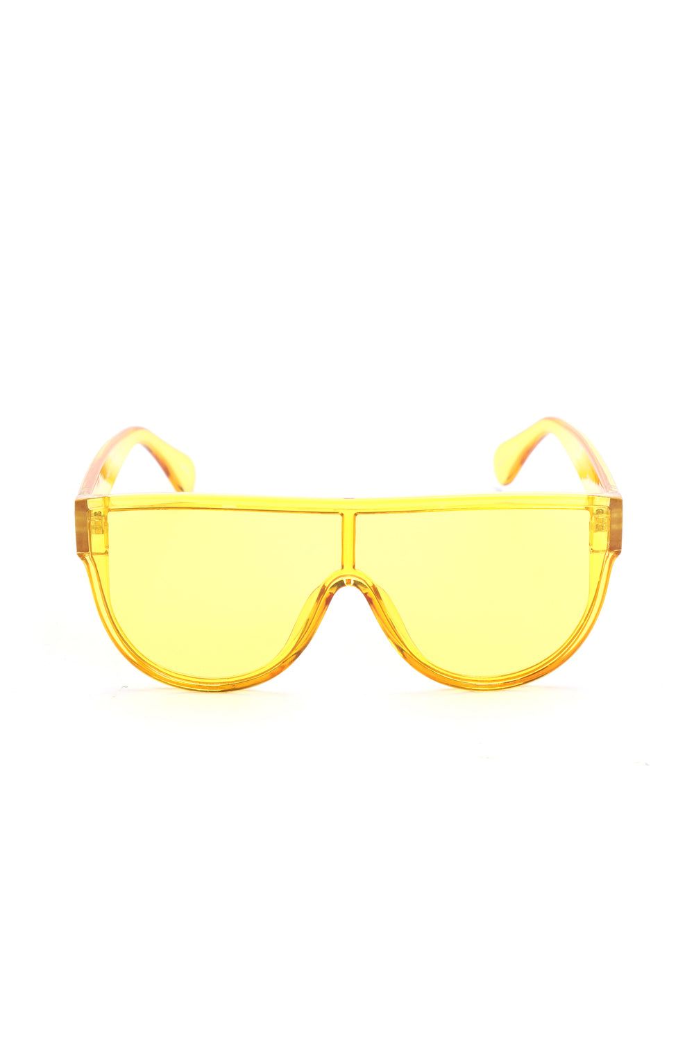 Ready For The Show Sunglasses - Yellow