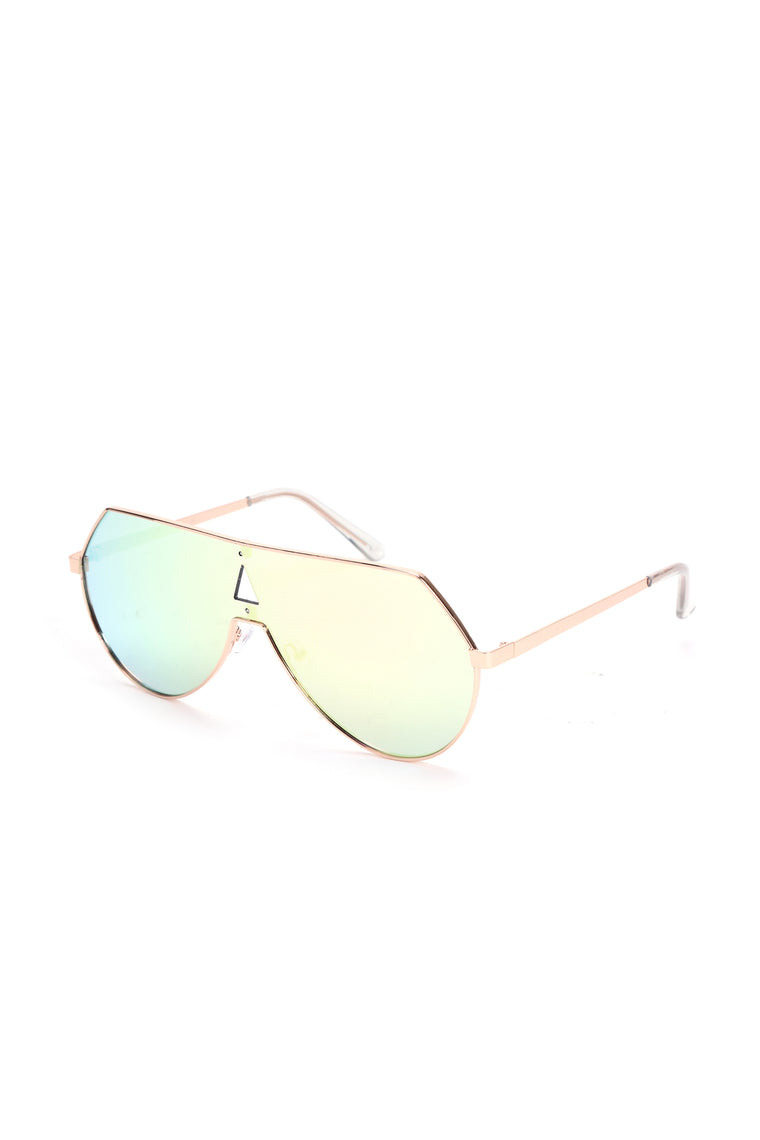 Heavy Metal Lover Sunglasses - Rose