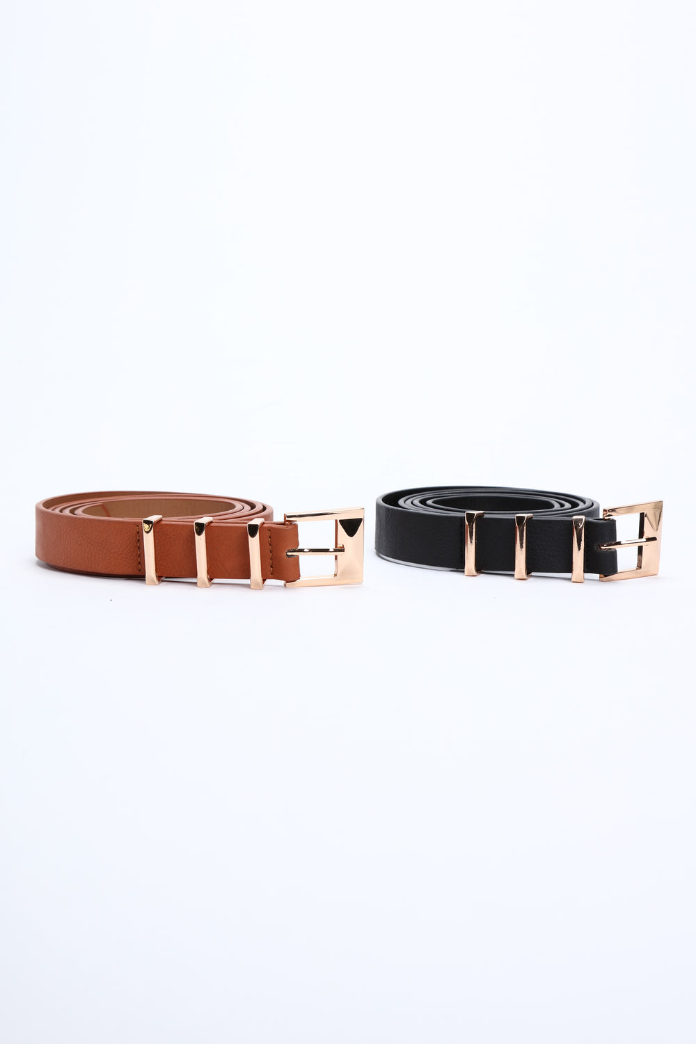 ll Eyes On Me Two Pack Belt - Black/Combo