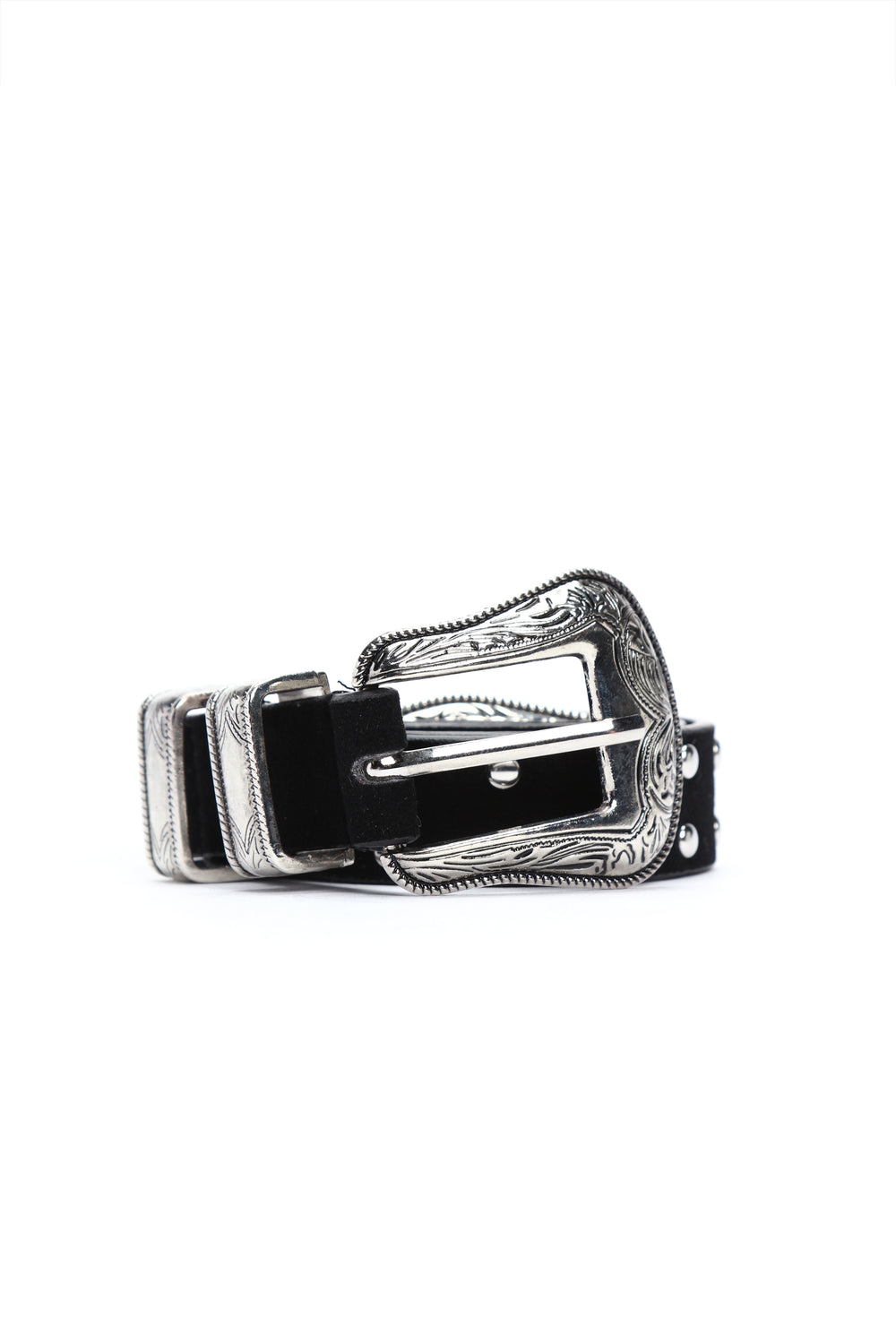 Dirty Dancing Belt - Silver/Black