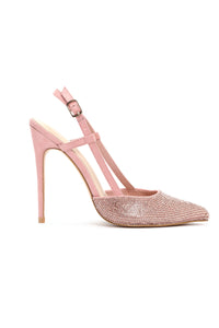 I Know What I Am Pumps - Blush/RoseGold