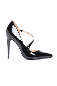 Pat Down Pumps - Black