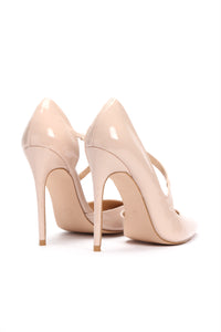 Pat Down Pumps - Nude