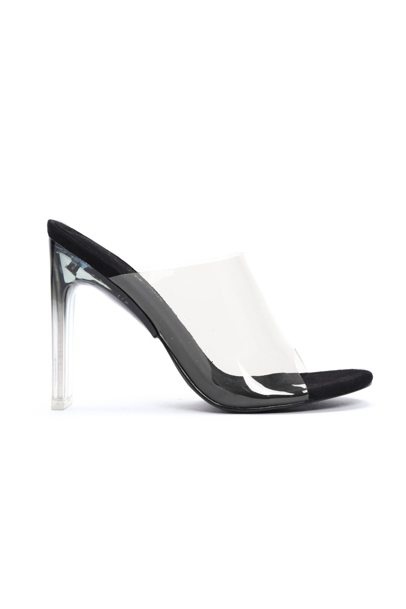 Not So Average Heeled Sandal - Black