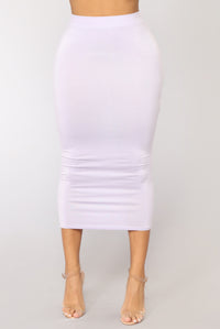 No Manners Skirt Set - Lavender Angle 7