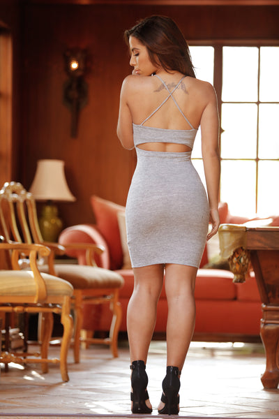 Mercy Dress - Heather Grey