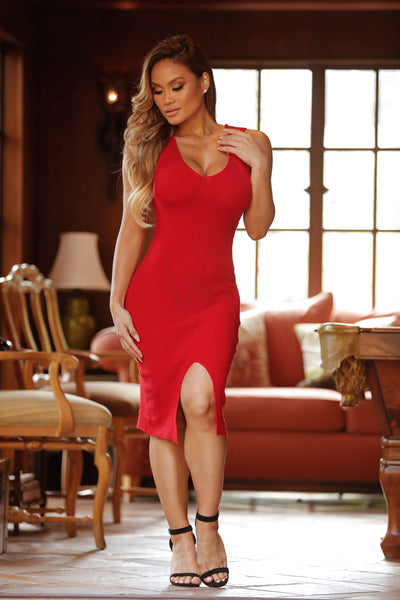 Sawyer Dress - Red