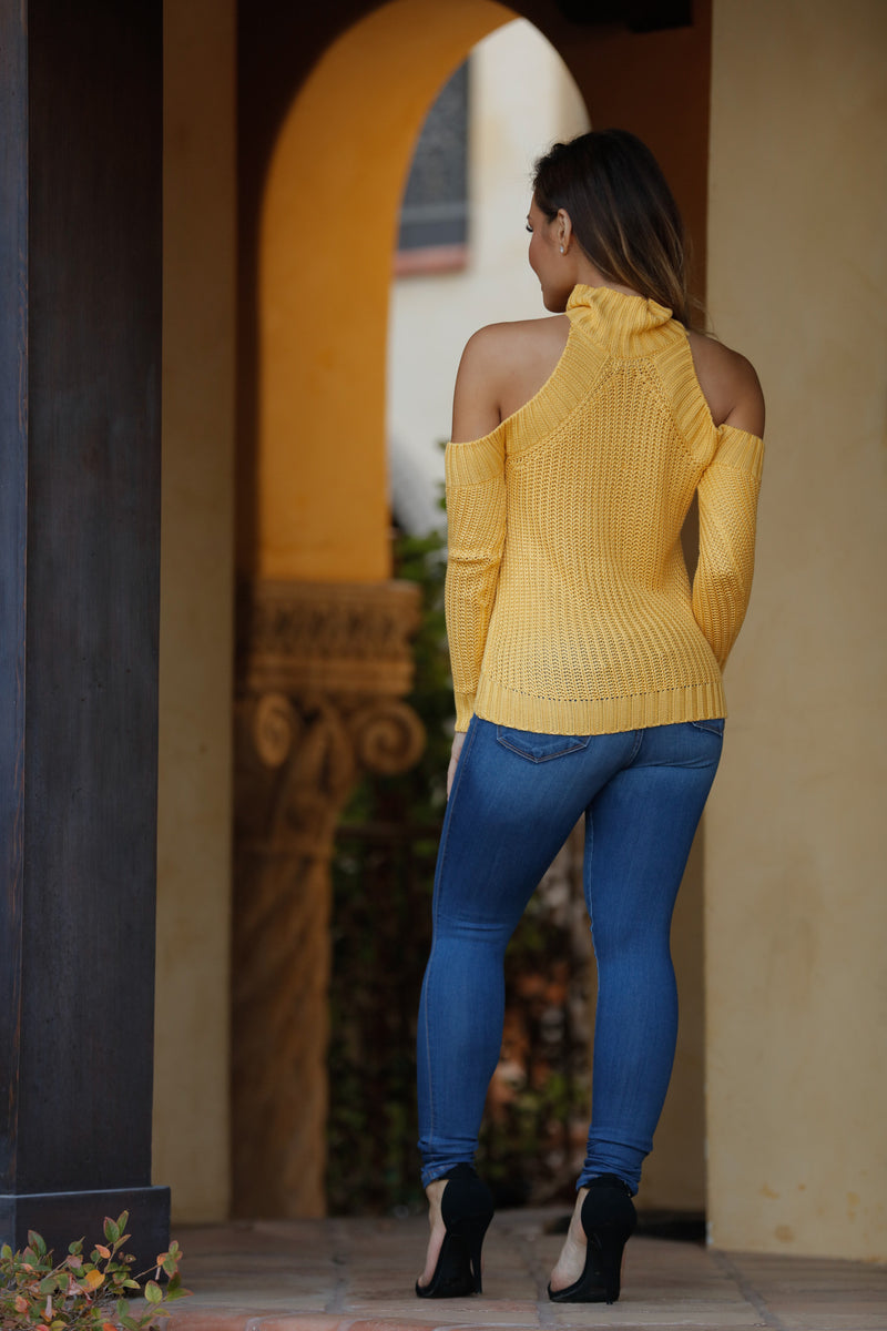 A La Mode Sweater - Mustard