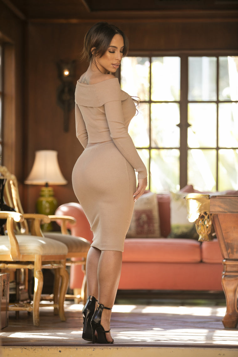 Reagan Set - Taupe
