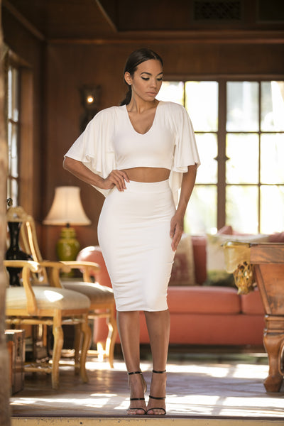 Angelica Skirt - Ivory