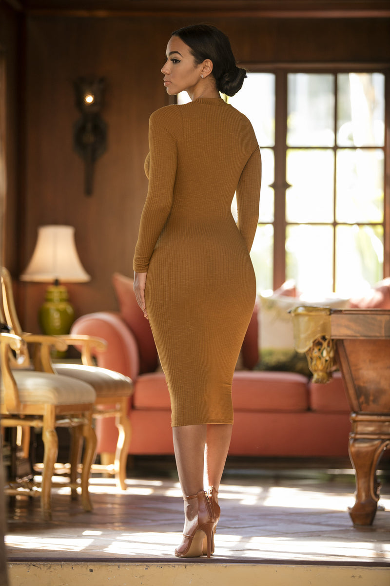 Abigail Dress - Mustard