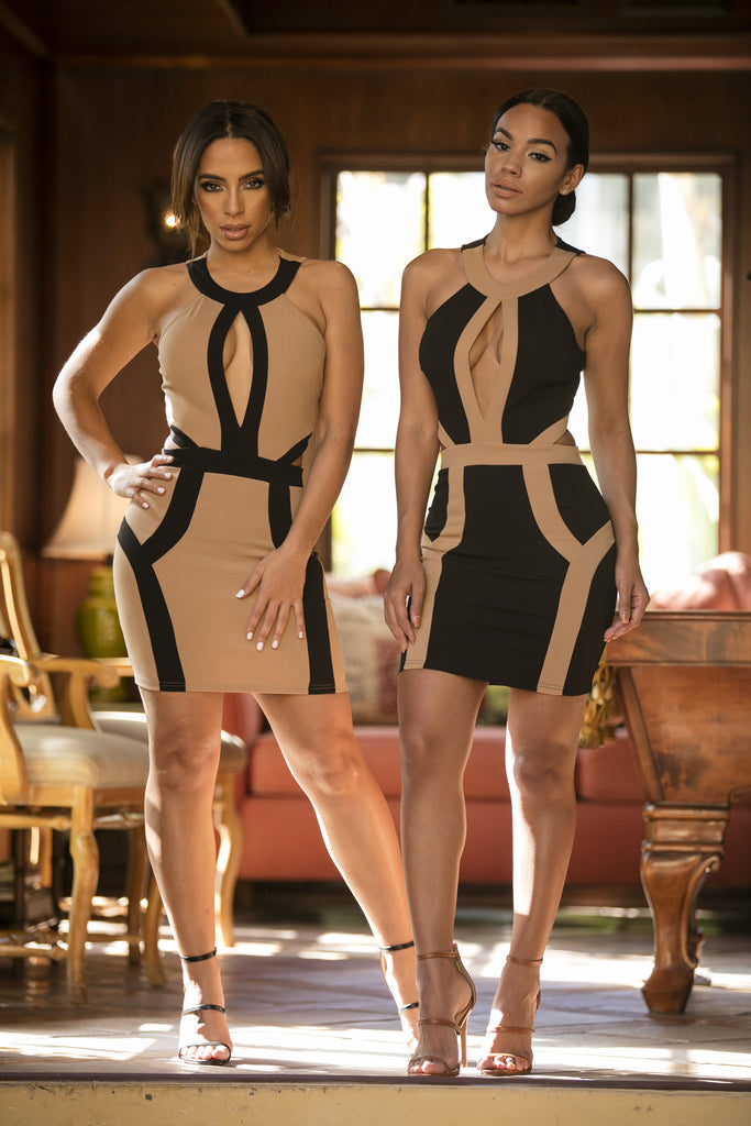 Pharaoh Dress - Black