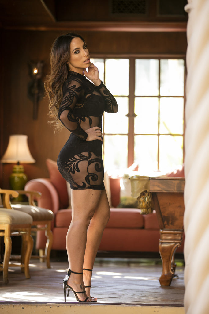Exquisite Dress  - Black