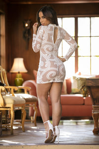 Exquisite Dress  - White