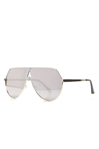 Heavy Metal Lover Sunglasses - Silver