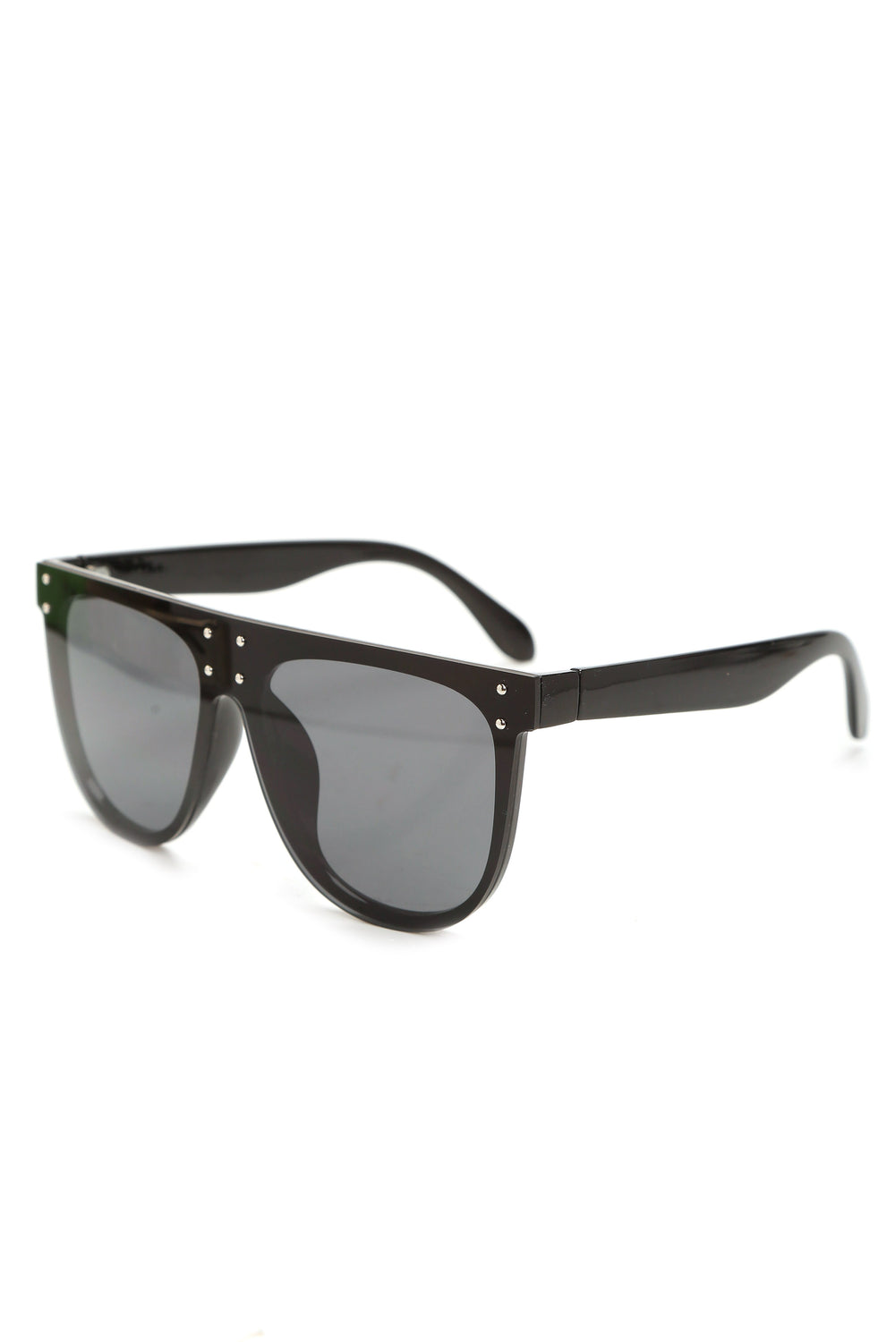 Armour Shield Sunglasses - Black/Smoke