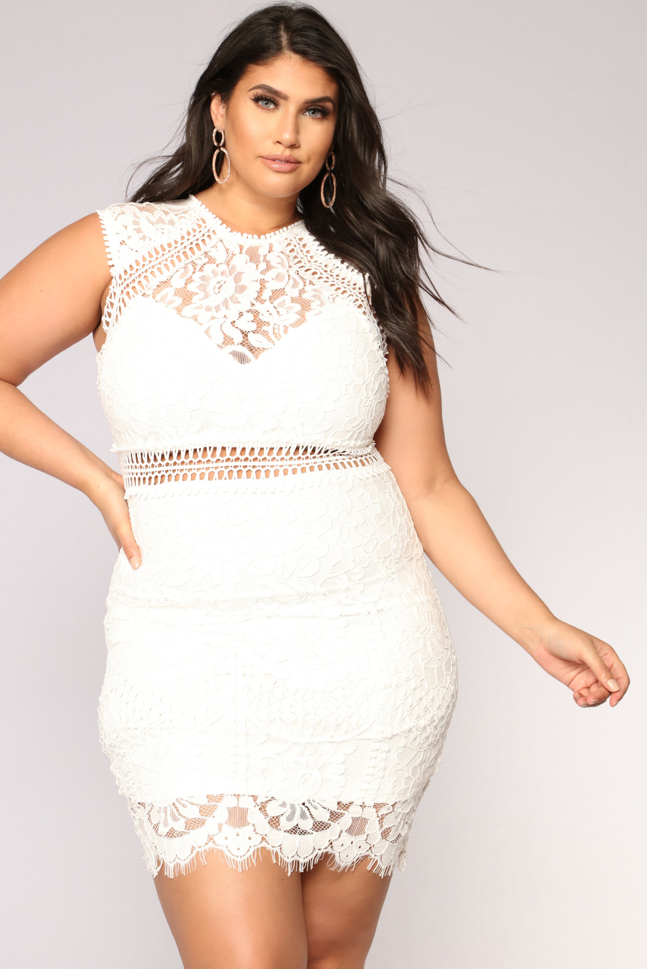 8af20bb8e89 Brisa Lace Dress - Off White