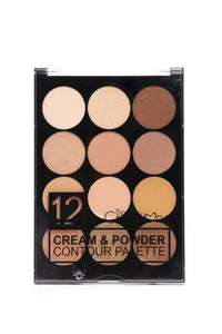 Beauty Creations Conceal And Powder Contour Palette