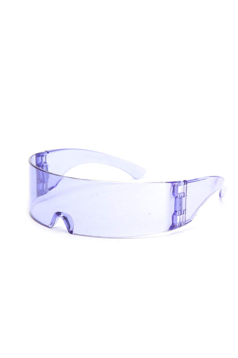 Revision Shield Sunglasses - Purple