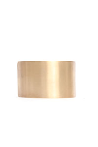 More On Your Plate Hair Cuff - Gold