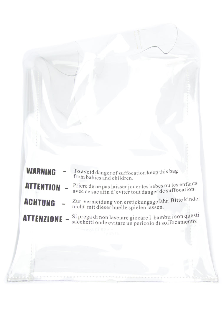 Just Being Clear With You Bag - Clear