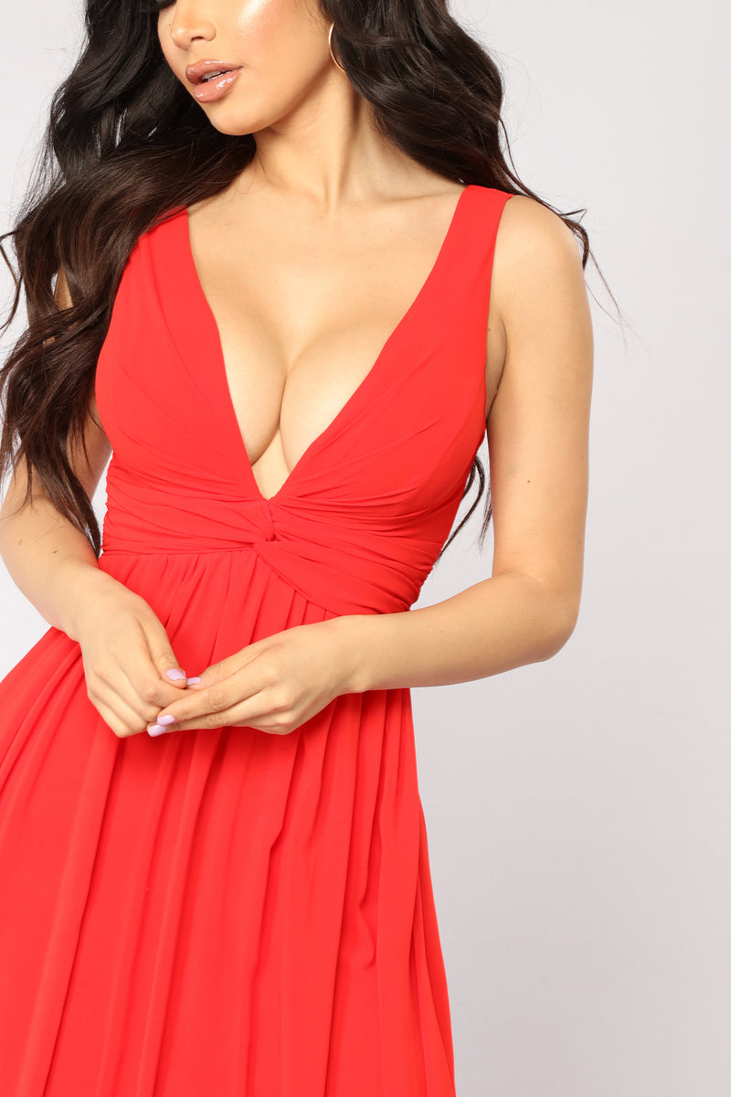 Grandiose Dress - Red