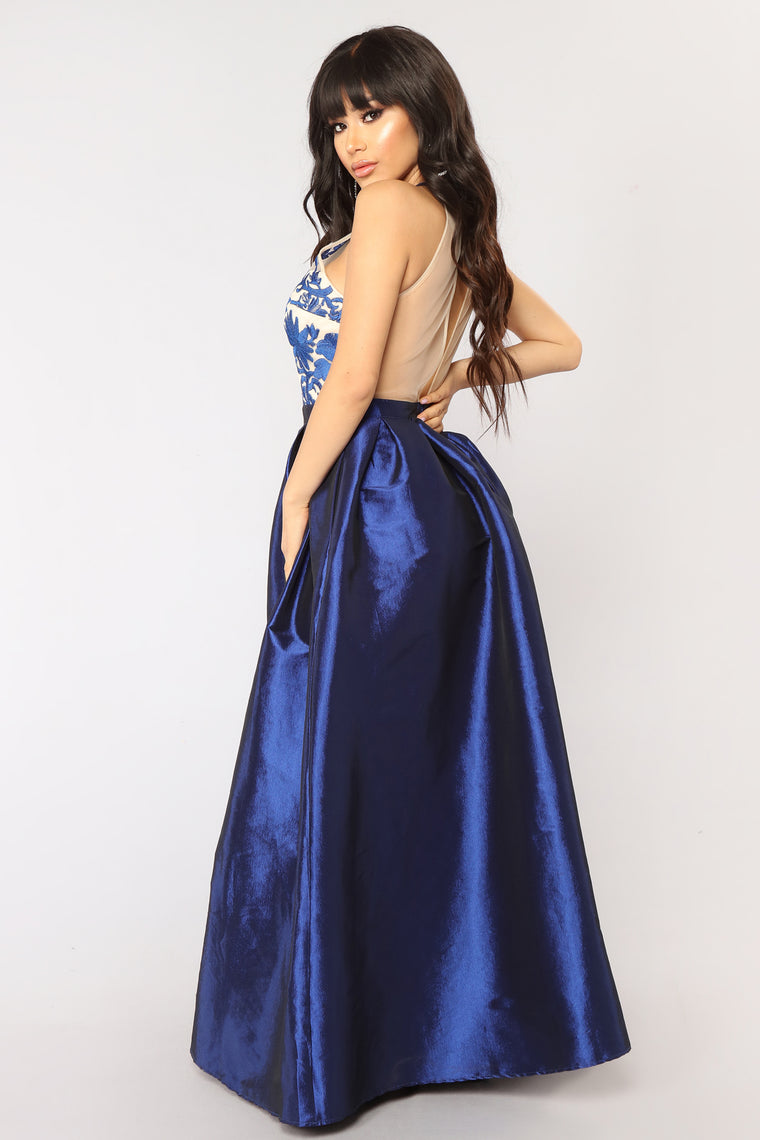 Suzanne Maxi Dress - Navy