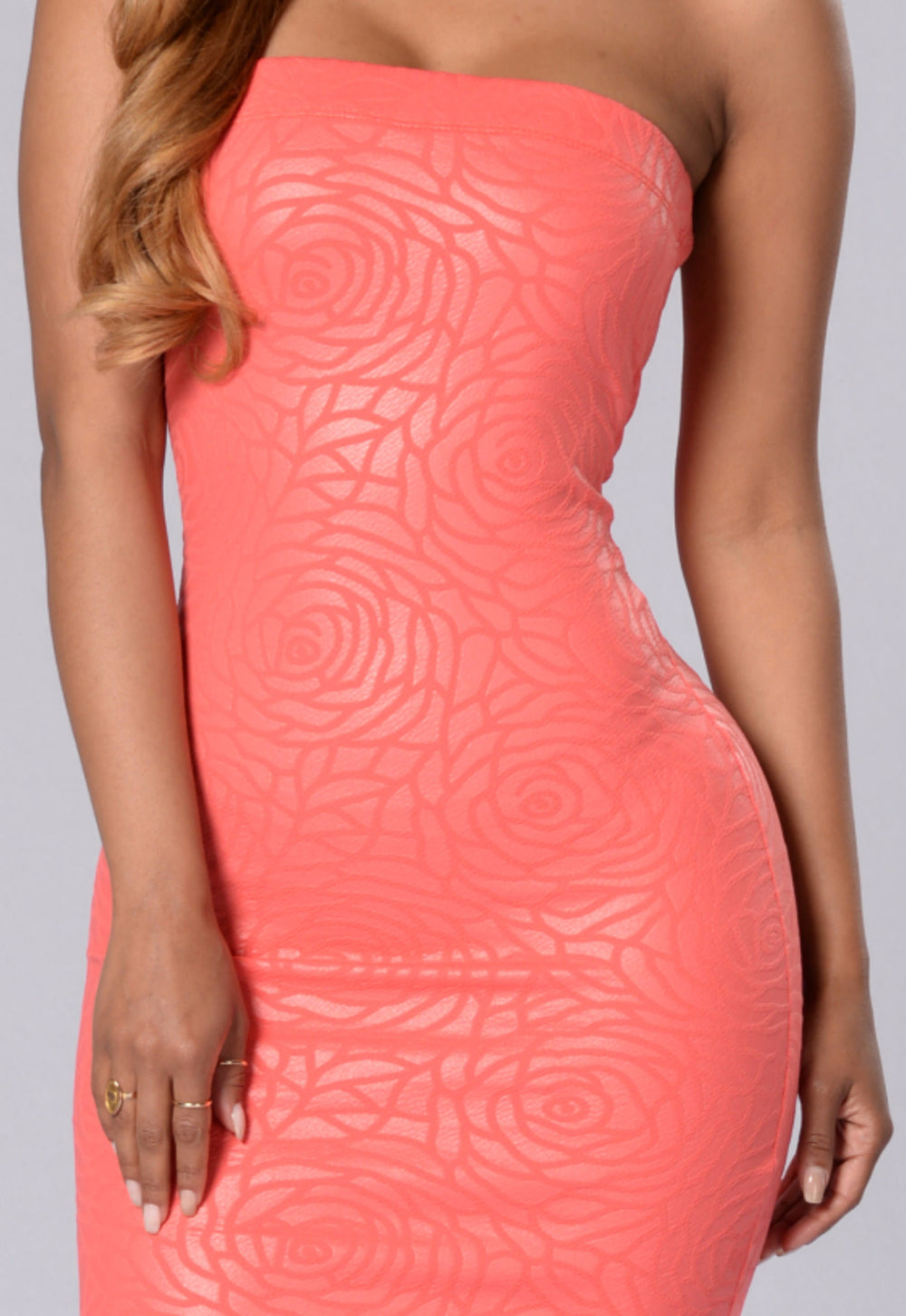 Make My Day Dress - Coral