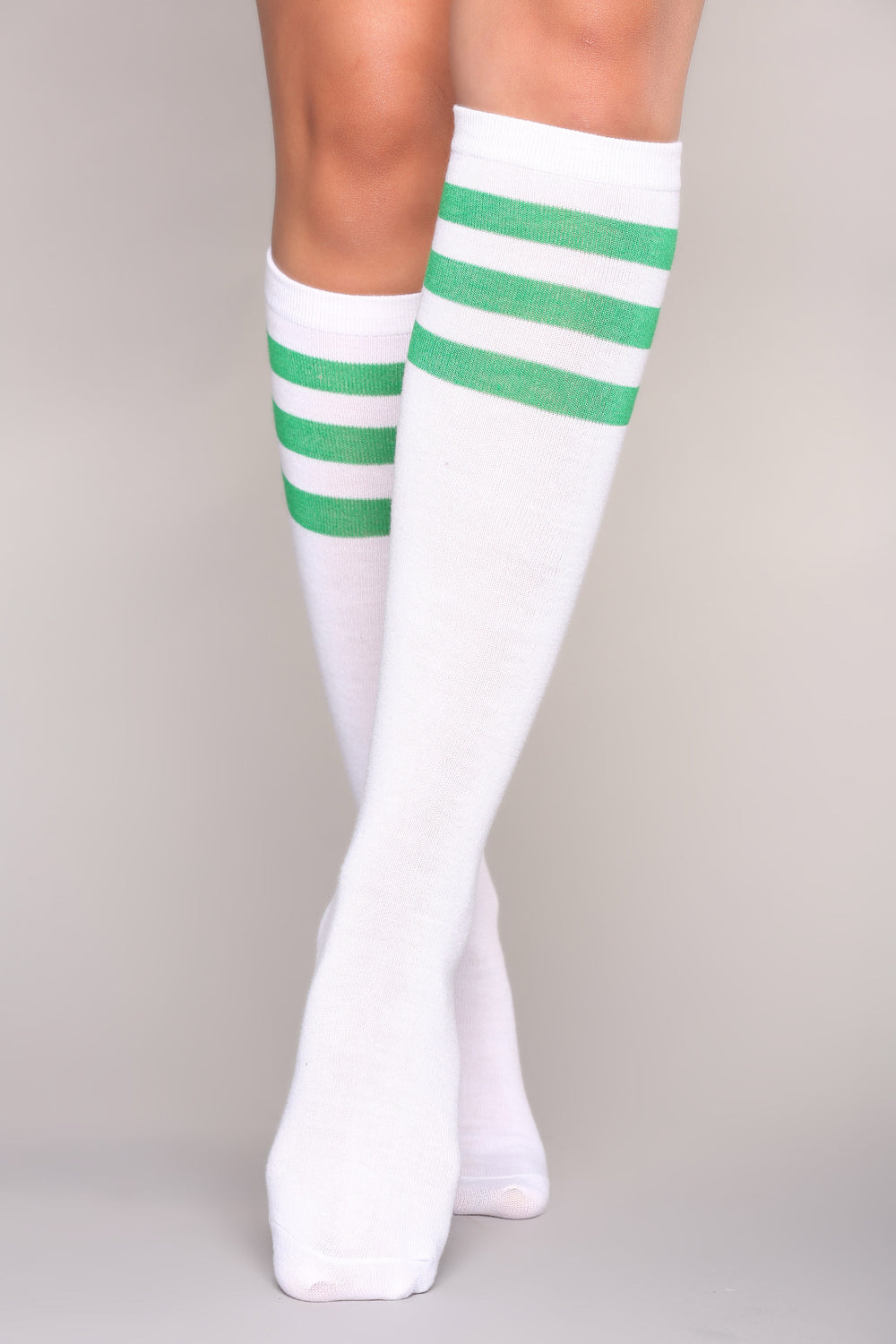 Not Your Average Knee High Socks - Green