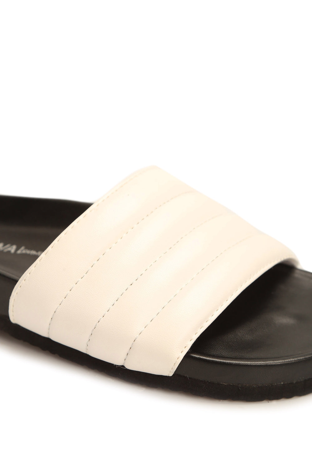 Puffer Than You Think Slides - White