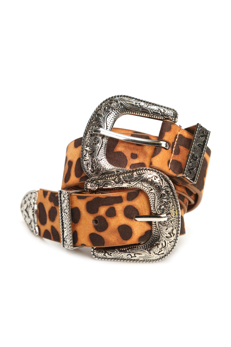 Not Like The Others Belt - Leopard