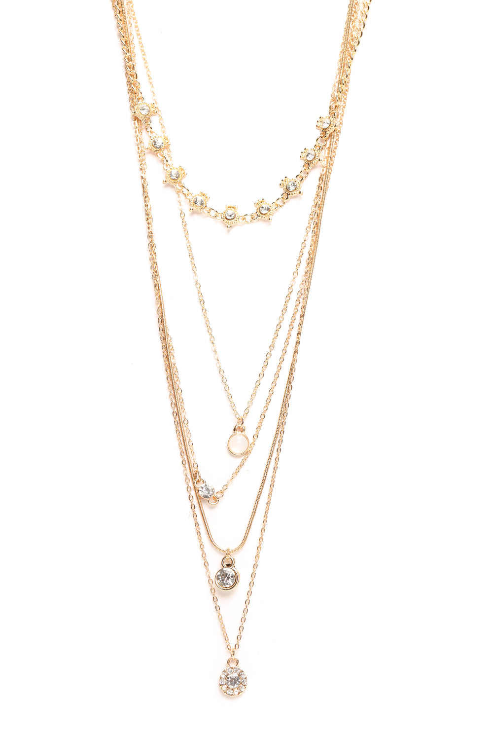 Jaydee Layered Necklace - Gold