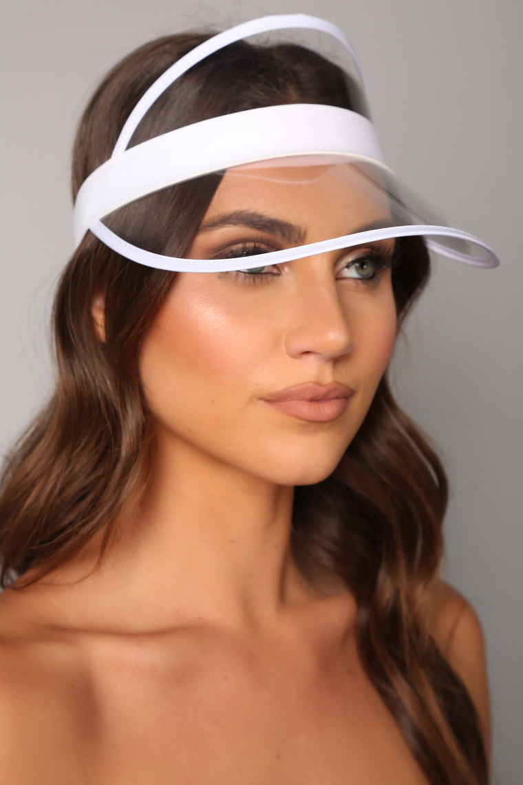 Clear Visions Visor - White