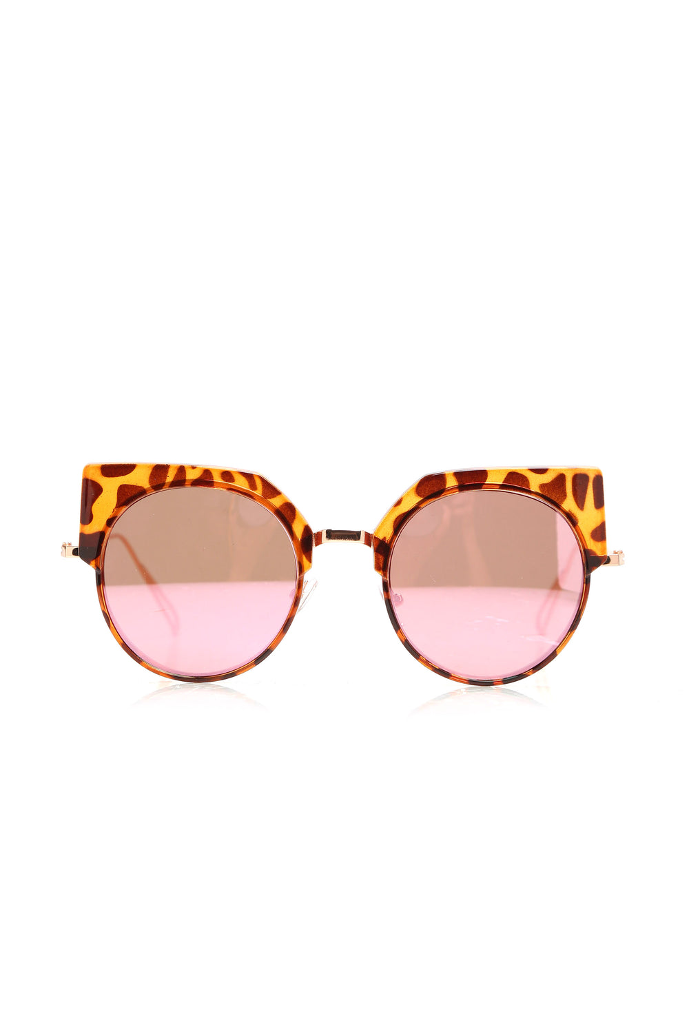 Say Nothing Sunglasses - Pink/Rosegold