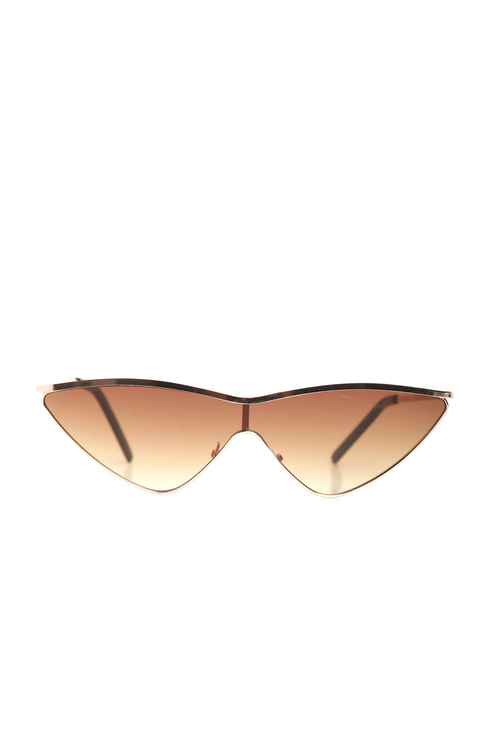 Rough Around The Edges Sunglasses - Gold