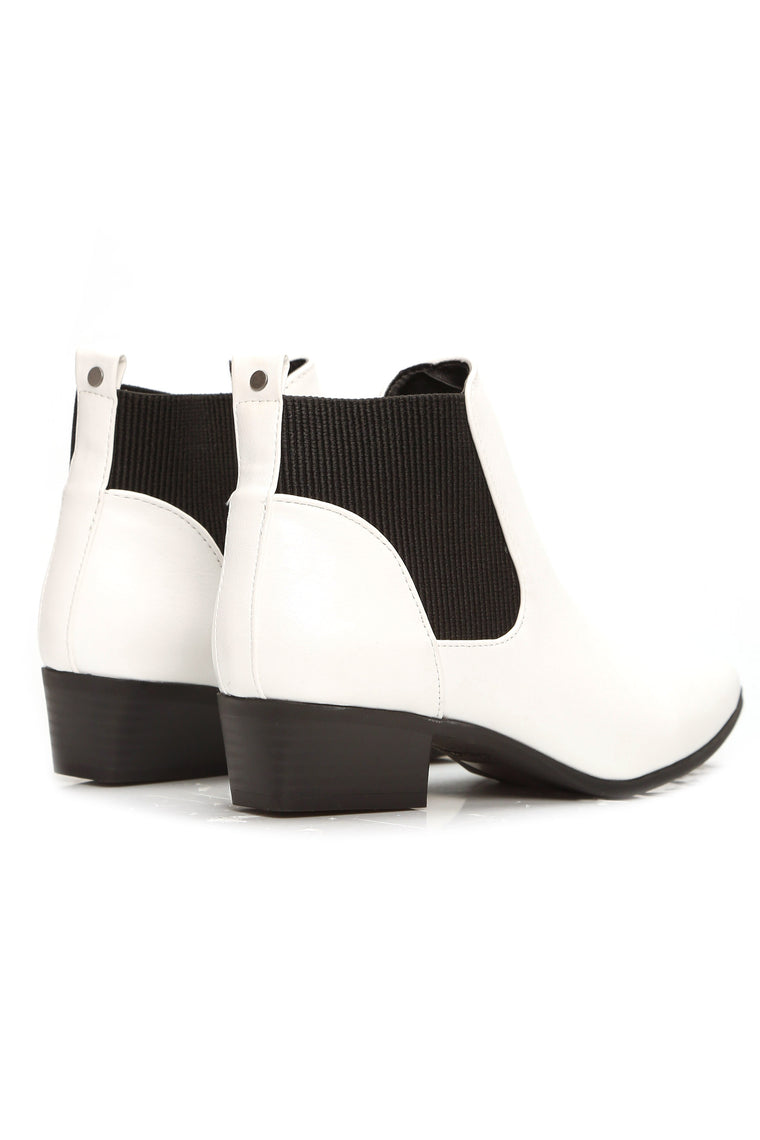 Taliyah Bootie - White