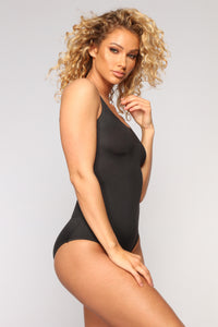 Hug Me Tight Shapewear Bodysuit - Black