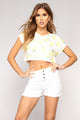 Makin' Lemonade Top - White